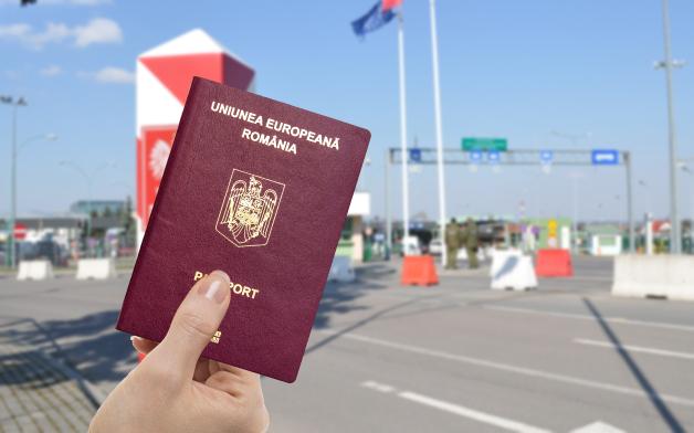 Пересекаем границу с двумя паспортами